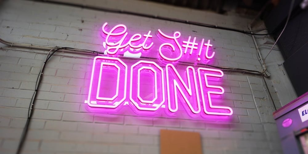 Neon Sign - Get S#!t DONE